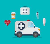 Medical icons design