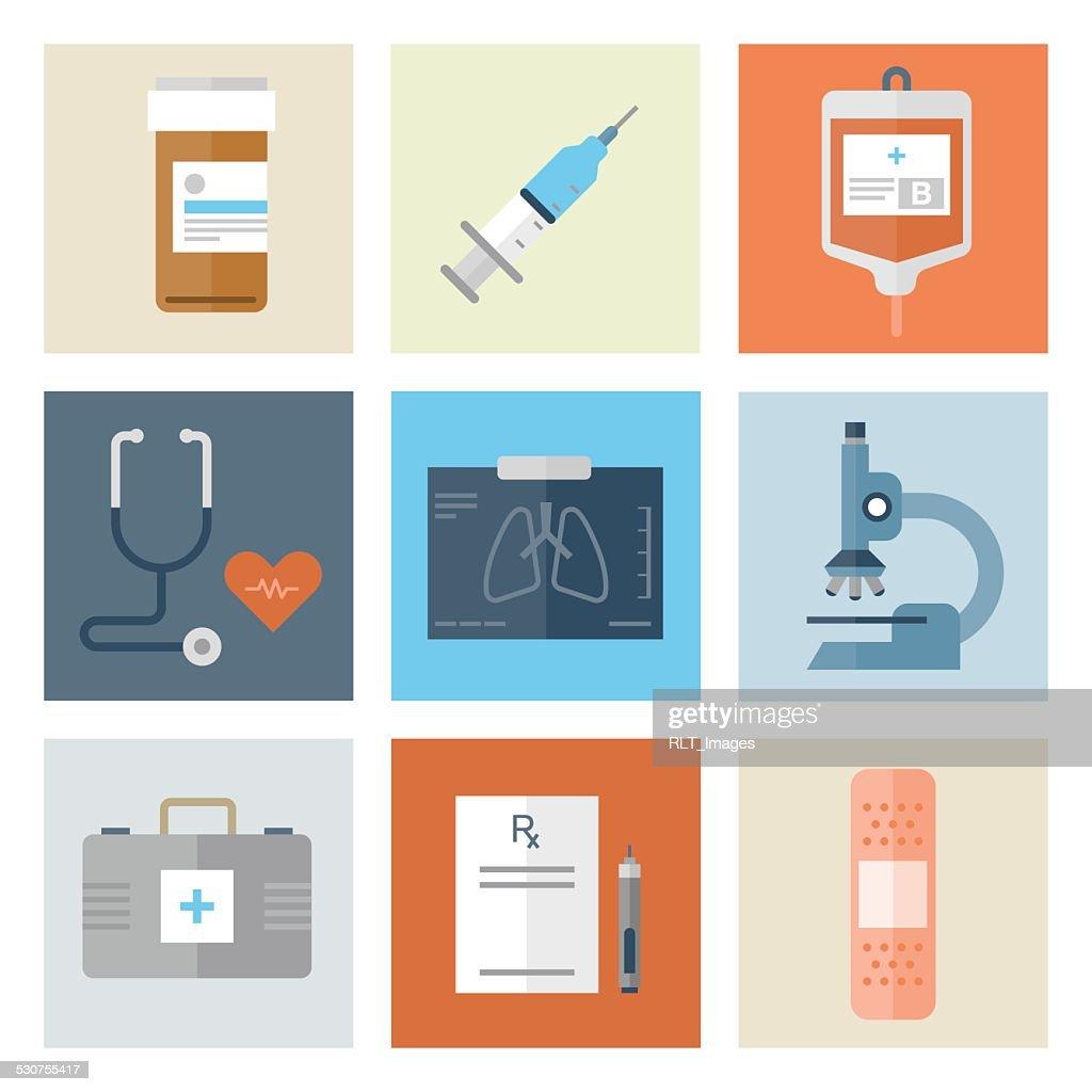 Medical Icons — Flat Series