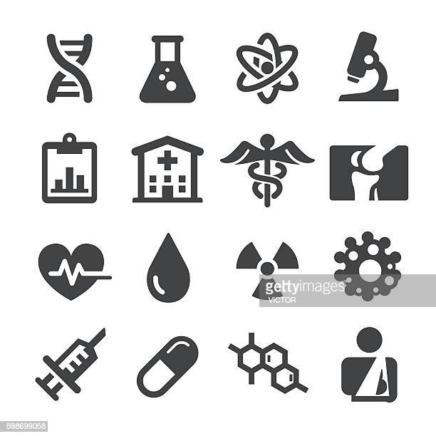 medical icons set - acme series - recreational drug stock illustrations, clip art, cartoons, & icons