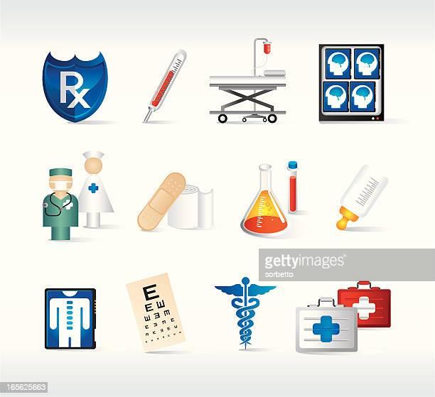 medical icons - neurosurgery stock illustrations, clip art, cartoons, & icons