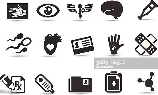 Iconos de médicos