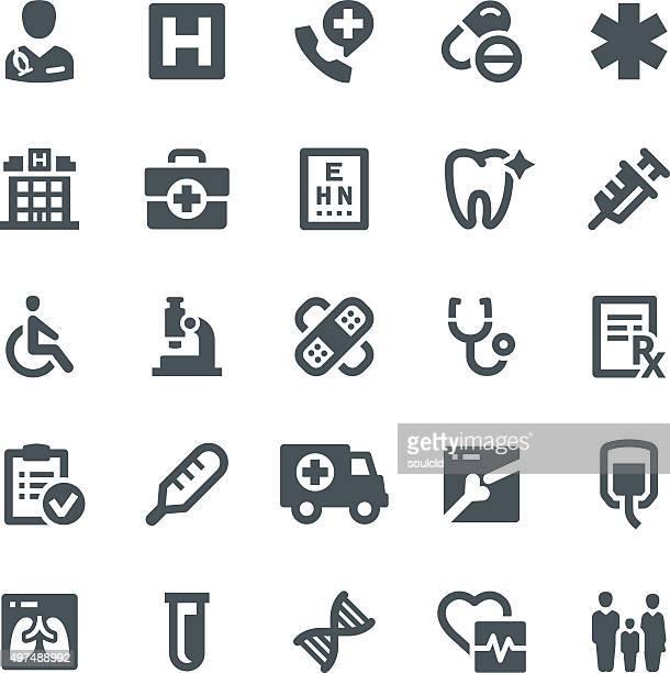 ilustraciones, imágenes clip art, dibujos animados e iconos de stock de iconos de médicos - cardiólogo