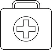 medical kit first aid emergency case