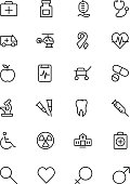 Medical Line Vector Icons 1