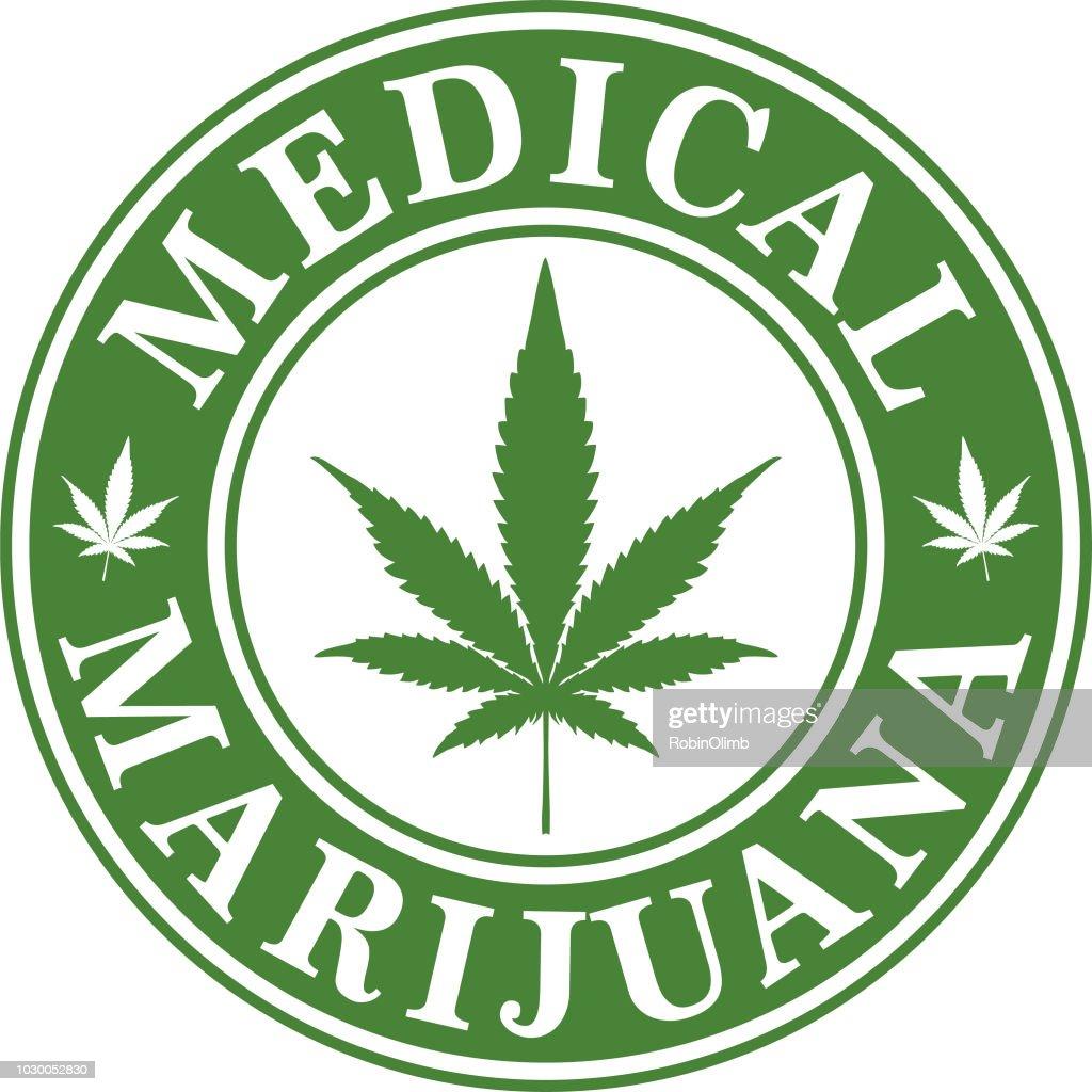 Medical Marijuana Icon : Stock Illustration