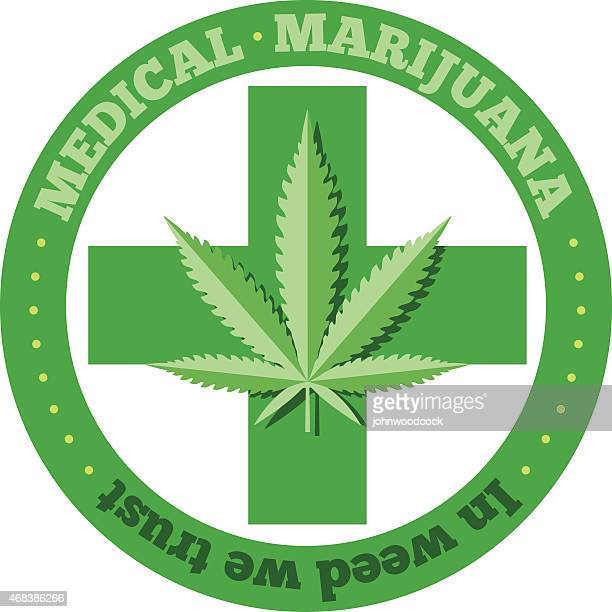 medical marijuana - medical marijuana stock illustrations