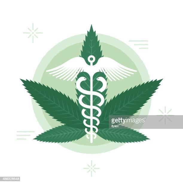 medizinische haschisch - cannabis medicinal stock-grafiken, -clipart, -cartoons und -symbole