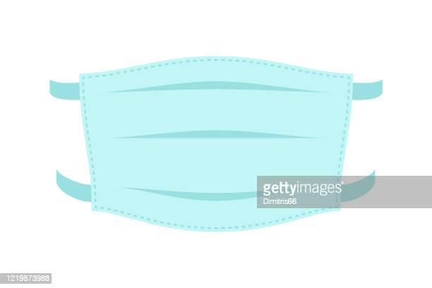 メディカルマスク - サージカルマスク点のイラスト素材/クリップアート素材/マンガ素材/アイコン素材