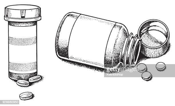 Medical Prescription Pill Bottles