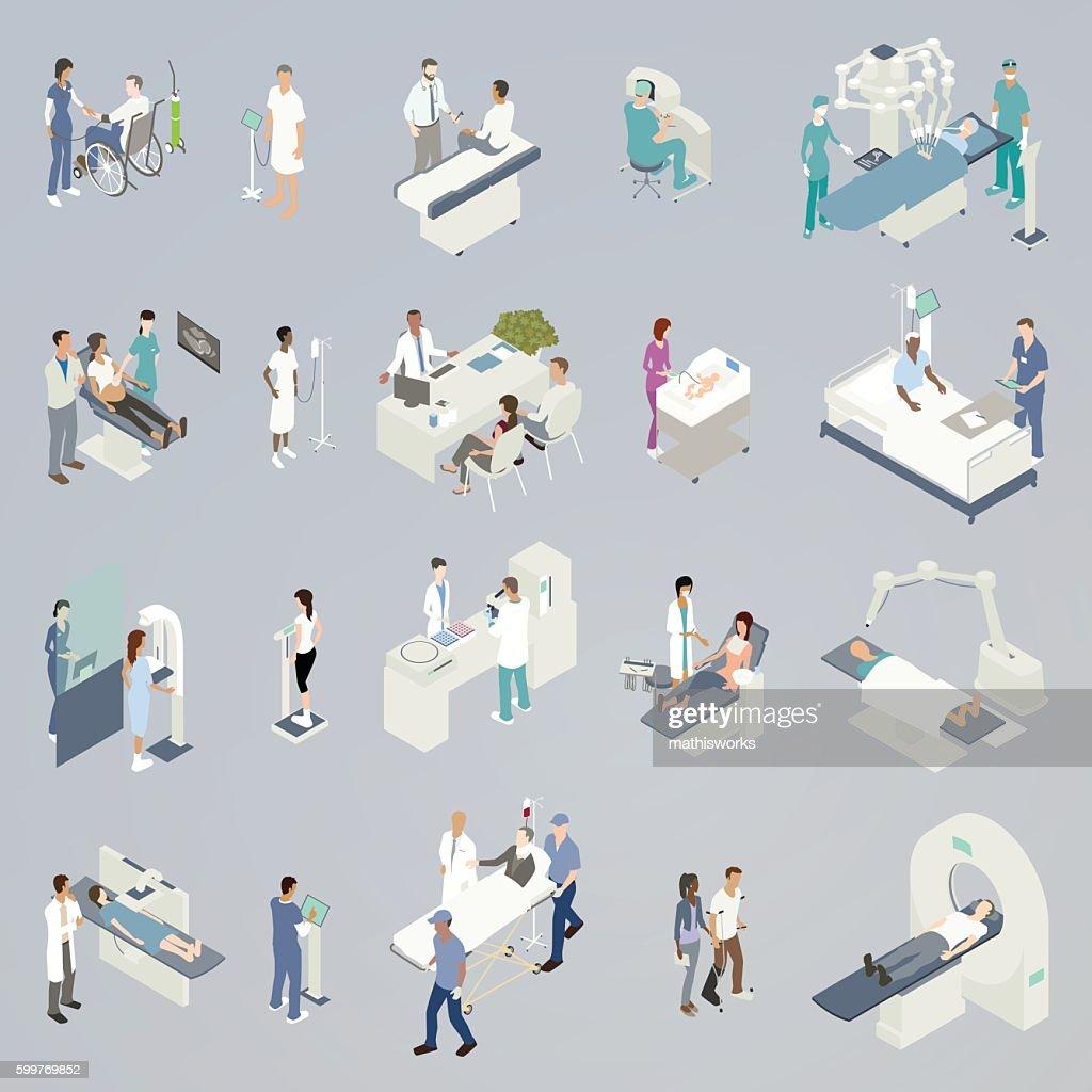 Medical Procedure Illustrations