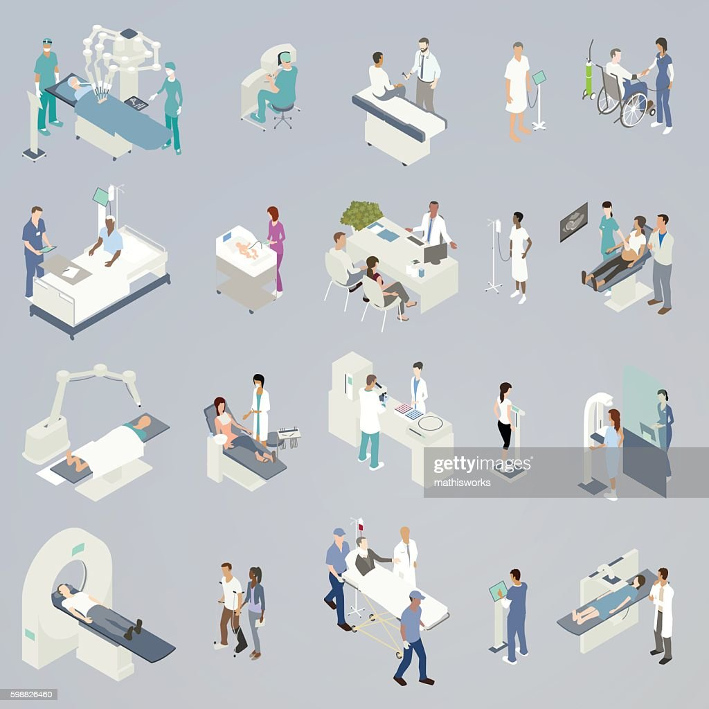 Medical Procedures Illustration : Ilustración de stock