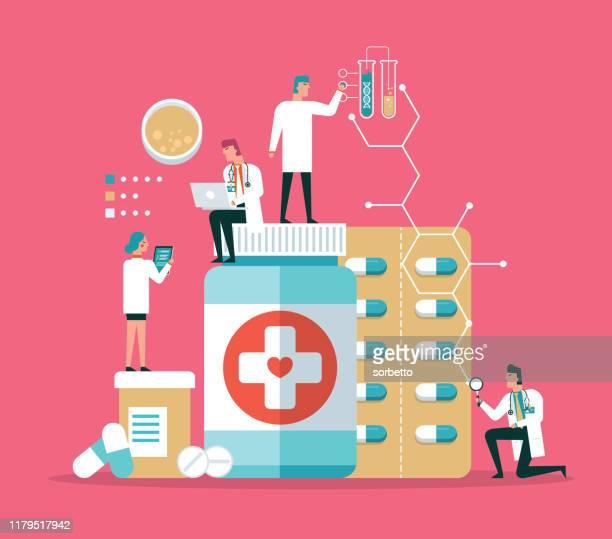 医学研究室診断 - 医療診断機器点のイラスト素材/クリップアート素材/マンガ素材/アイコン素材