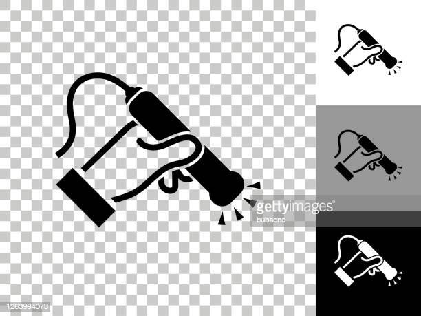 チェッカーボード透明背景の医療スキャンアイコン - レントゲン撮影装置点のイラスト素材/クリップアート素材/マンガ素材/アイコン素材