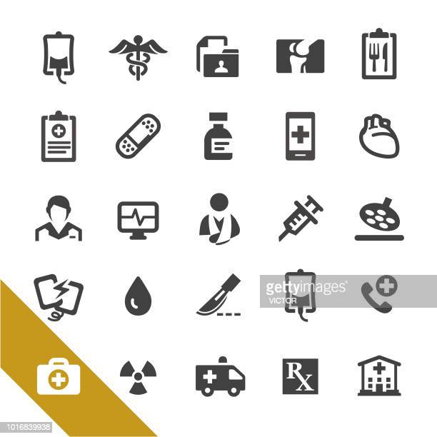 Medical Services and Emergency Icons - Select Series