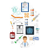 Medical Services Infographics