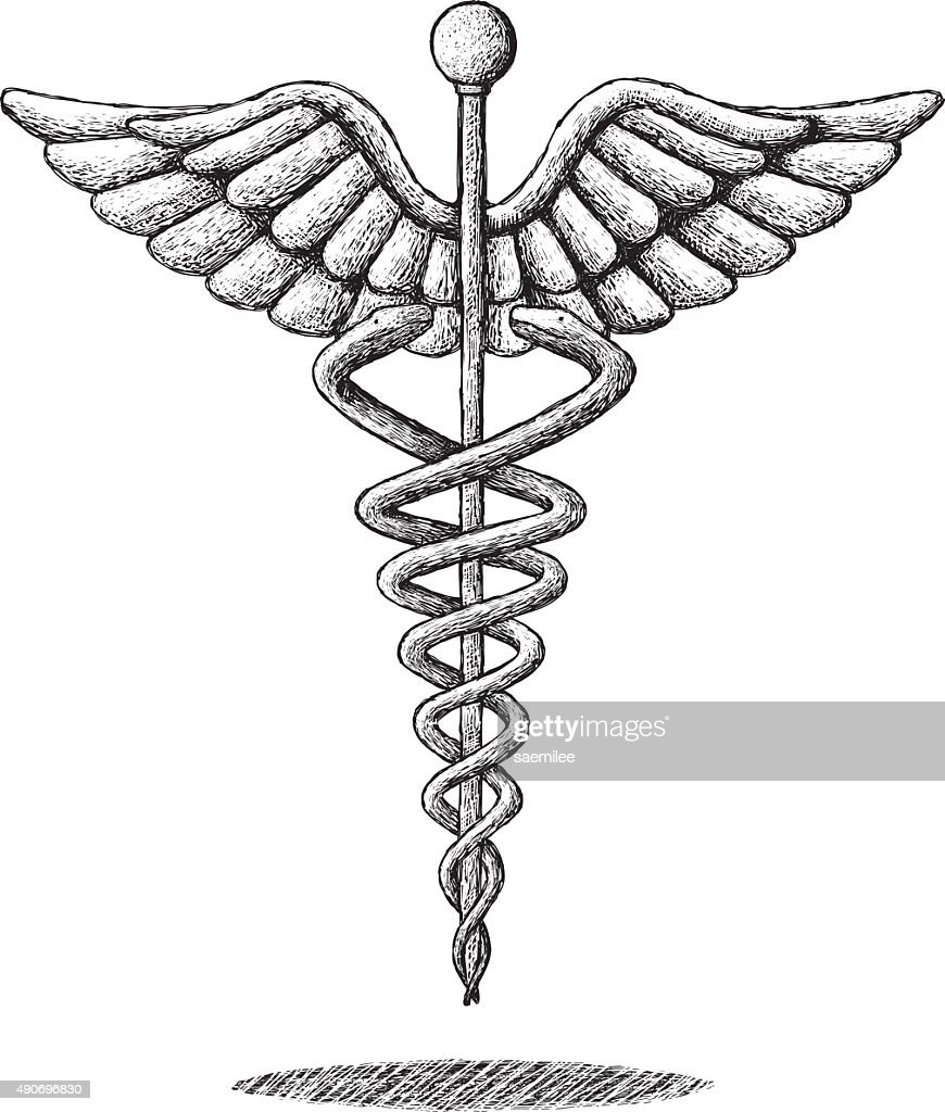 Medical symbol drawing vector art getty images medical symbol drawing vector art buycottarizona Gallery