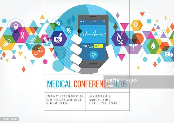 Medical technology event branding