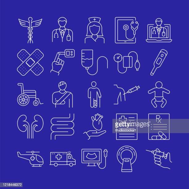 医療用細線シリーズ - レントゲン撮影装置点のイラスト素材/クリップアート素材/マンガ素材/アイコン素材