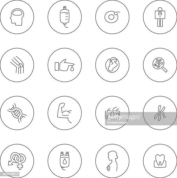 medical - cancer illness stock-grafiken, -clipart, -cartoons und -symbole