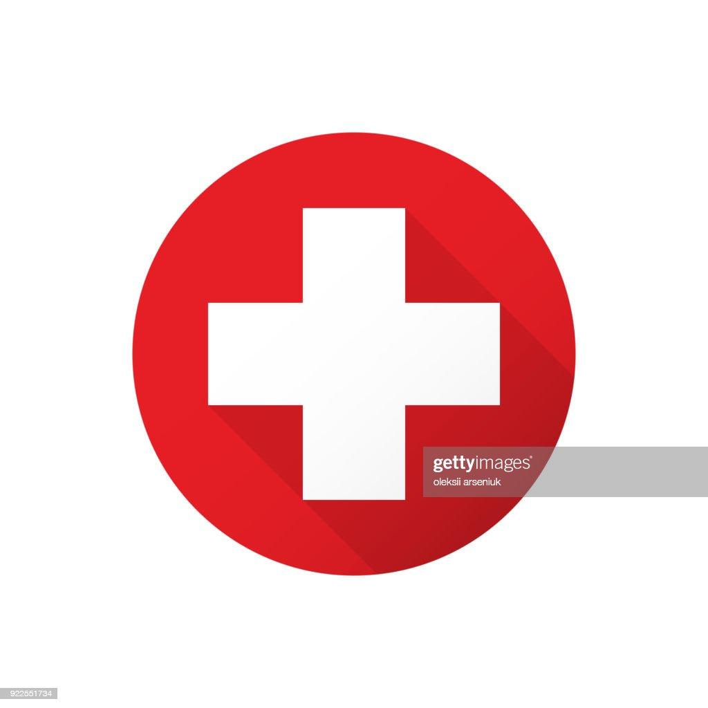Medical white cross