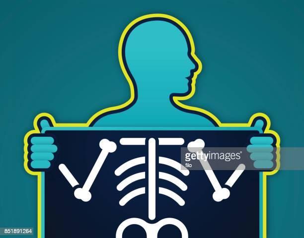 medical x-ray healthcare - x ray equipment stock illustrations, clip art, cartoons, & icons