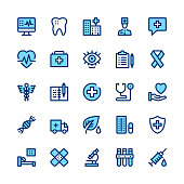 Medicine and healthcare line icons set. Modern graphic design concepts, simple symbols, linear stroke web elements, pictograms collection. Minimal thin line design. Premium quality. Pixel perfect. Vector outline icons