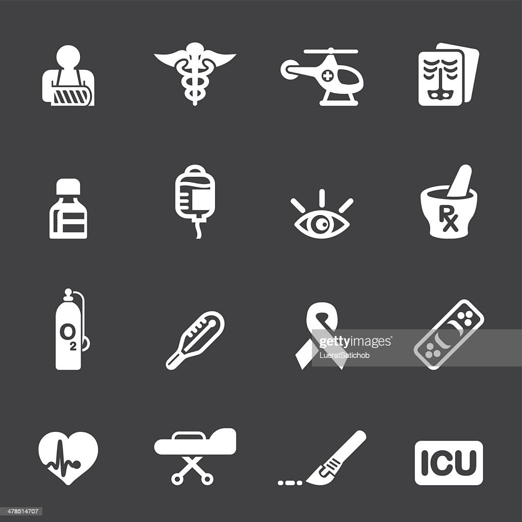 Medicine and Healthcare Mono icons 2