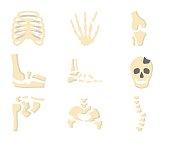 Medicine Flat Icon Broken Bones