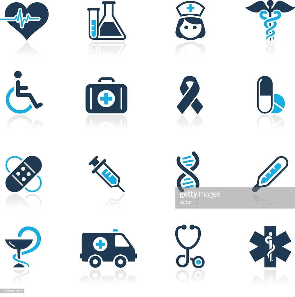 Medicine & Healthcare Icons // Azure Series