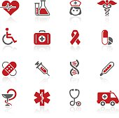 Medicine & Healthcare Icons // Redico Series