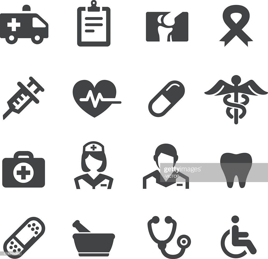 Medicine Icons - Acme Series : Stockillustraties
