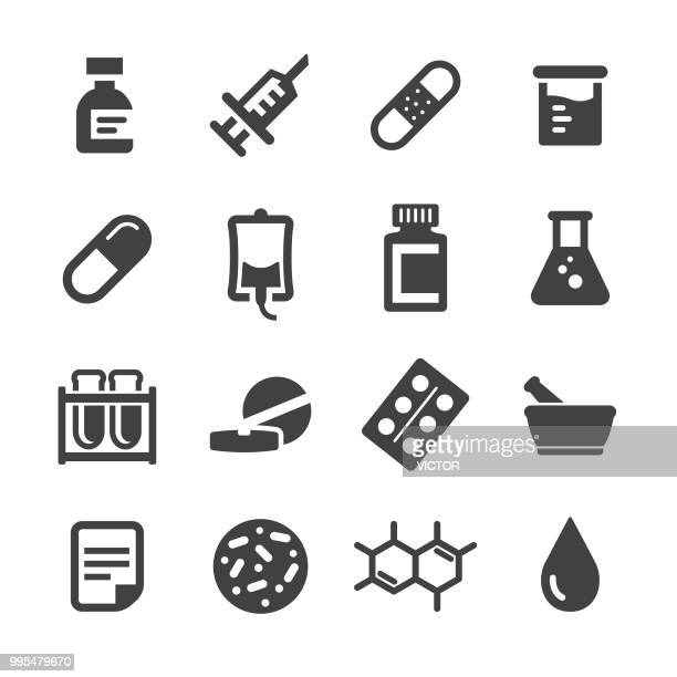 Medicine Icons Set - Acme Series