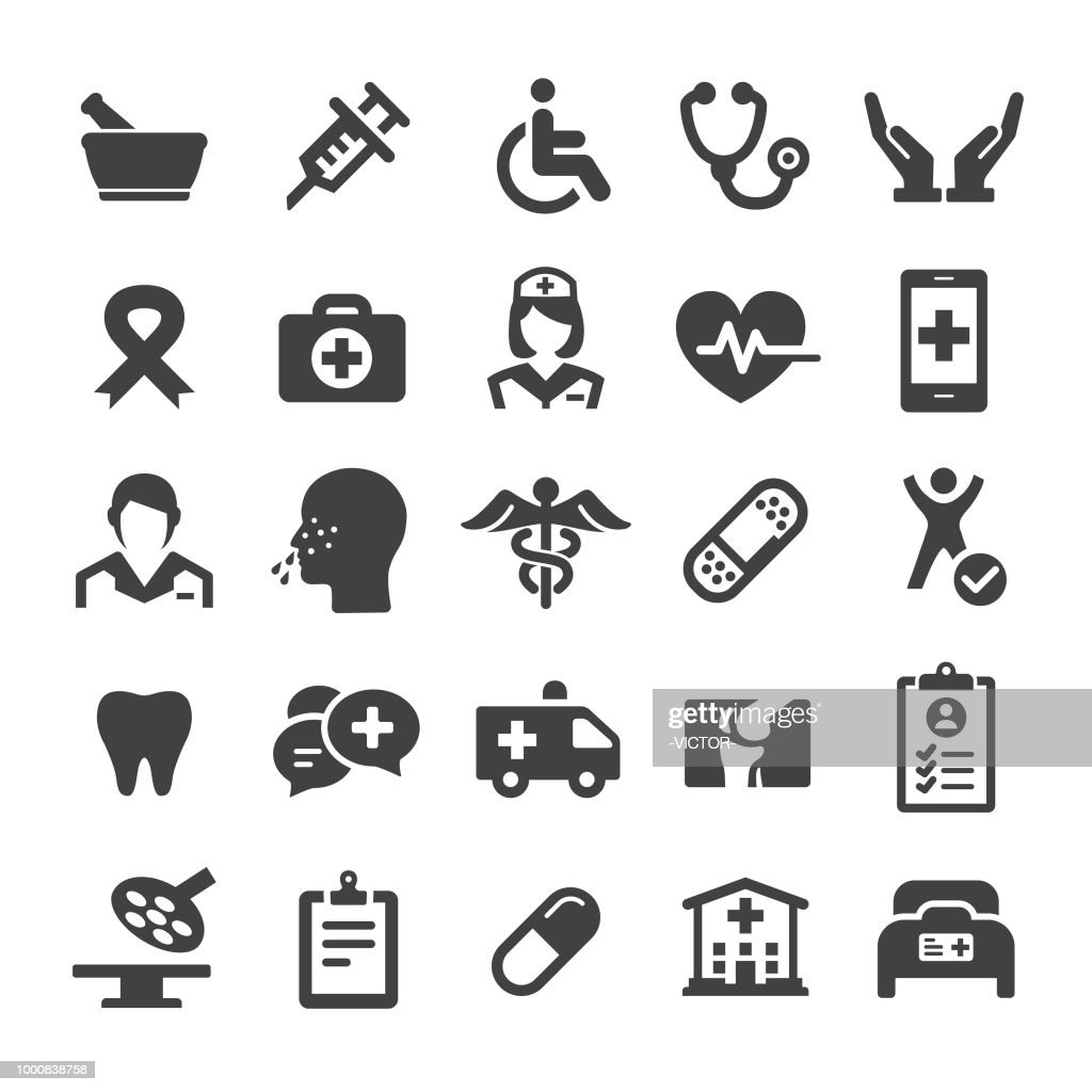 Medicine Icons - Smart Series : stock illustration