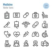 Medicine Icons - Vector Line Series