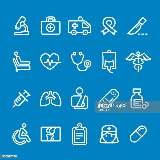 Medicine Icons - Vector Smart Line Series