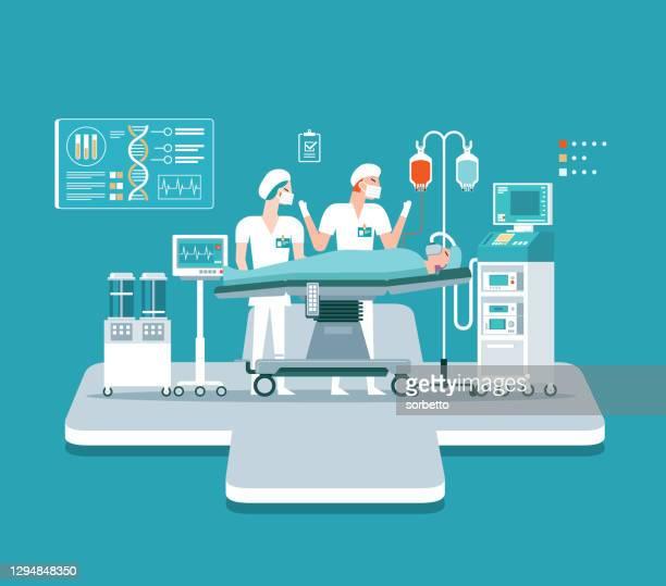 医学の外科 - 緊急 - mri装置点のイラスト素材/クリップアート素材/マンガ素材/アイコン素材