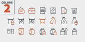 Medicine UI Pixel Perfect Well-crafted Vector Thin Line Icons 48x48 Ready for 24x24 Grid for Web Graphics and Apps with Editable Stroke. Simple Minimal Pictogram Part 3-3