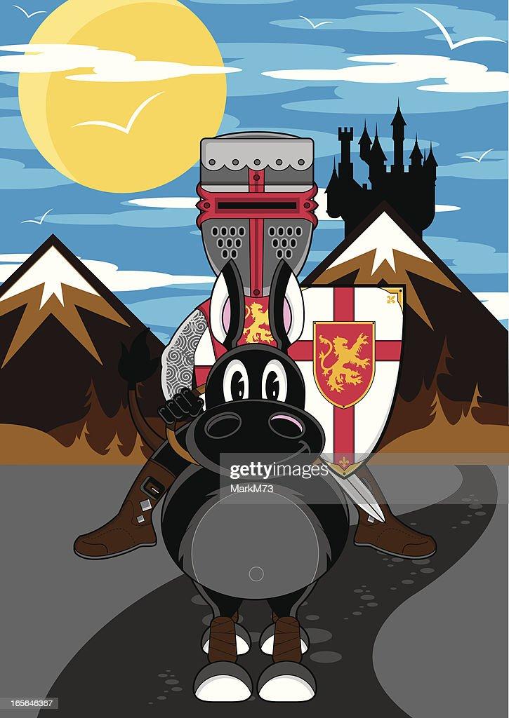 Crusader Knight on Horse Hochsteigenden Templer: Amazon.de: Küche & Haushalt | 1024x725