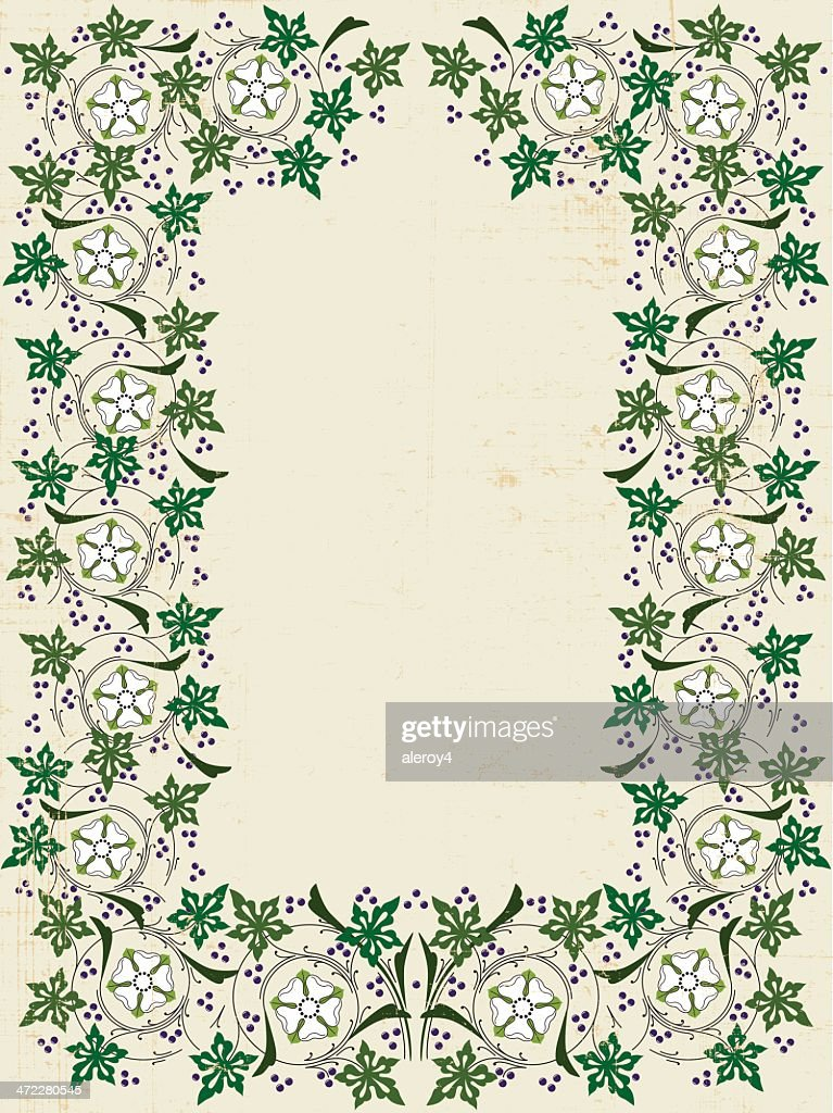 Medieval Frame On Papyrus Vector Art | Getty Images