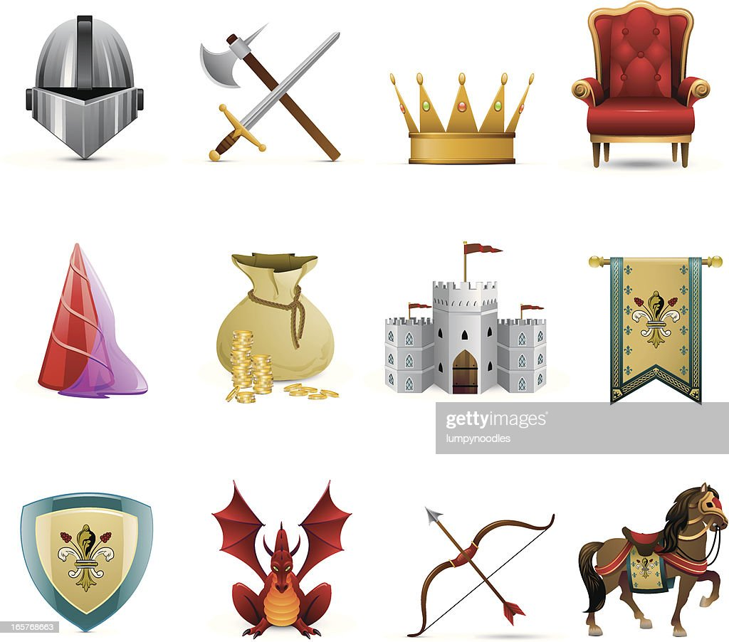 Medieval Knight Icons