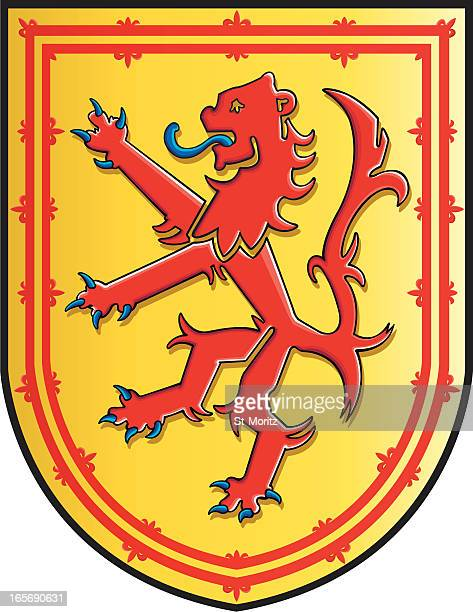 Medieval Scotland coat of arms