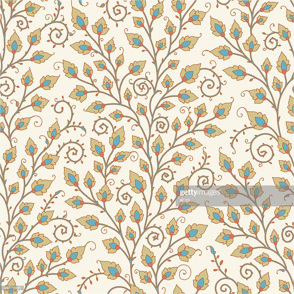 Medieval Seamless Pattern.
