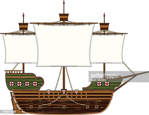 Medieval Style Galleon