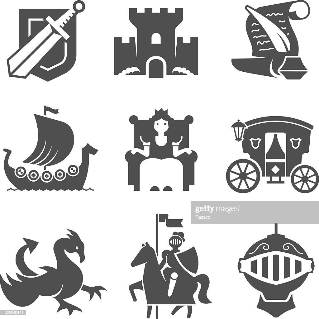 Medieval Symbols Collection