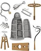 Medieval Torture Tools Set