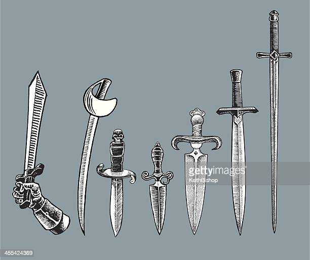 Medieval Weapons - Swords and Daggers