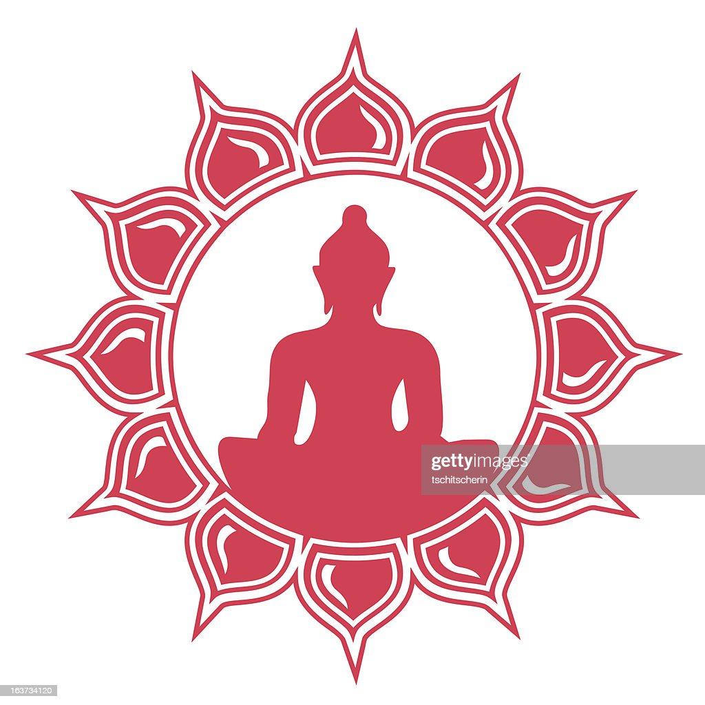 Meditation buddha lotus flower vector art getty images meditation buddha lotus flower vector art izmirmasajfo