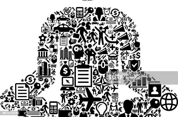 Meditation  Icon Business and Finance Vector Icon Pattern