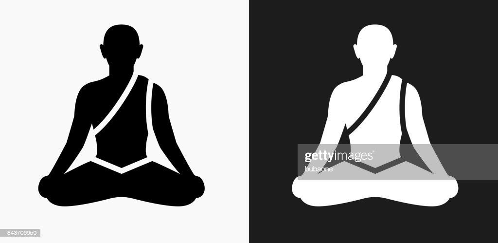 View Meditation Logo Black Background