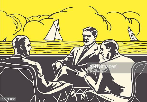 Meeting of Men on the Ocean